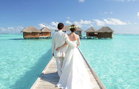 Celebrate your destination wedding in Maldives